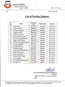 List of foreign student (1)